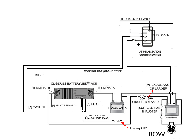 bow thruster wiring the official 2009 270da ~ 2010 280da thread page 4 club sea ray vetus bow thruster wiring diagram at bayanpartner.co